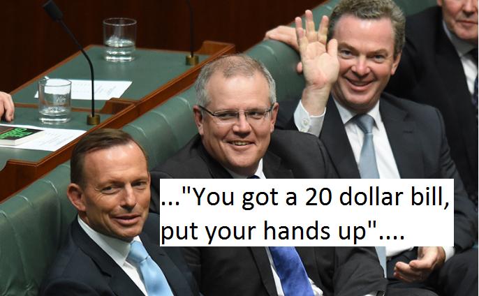 Australia New Pm Morrison You Got A 20 Dollar Bill Put Your Hands Up