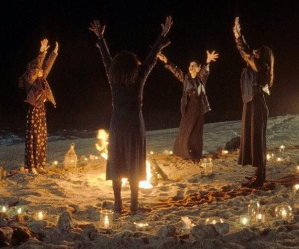 Resistance Witches - Feminist Performing Rituals To Bind President Trump